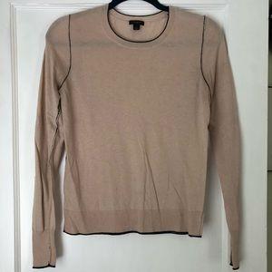 Ann Taylor sweater w/ black trim
